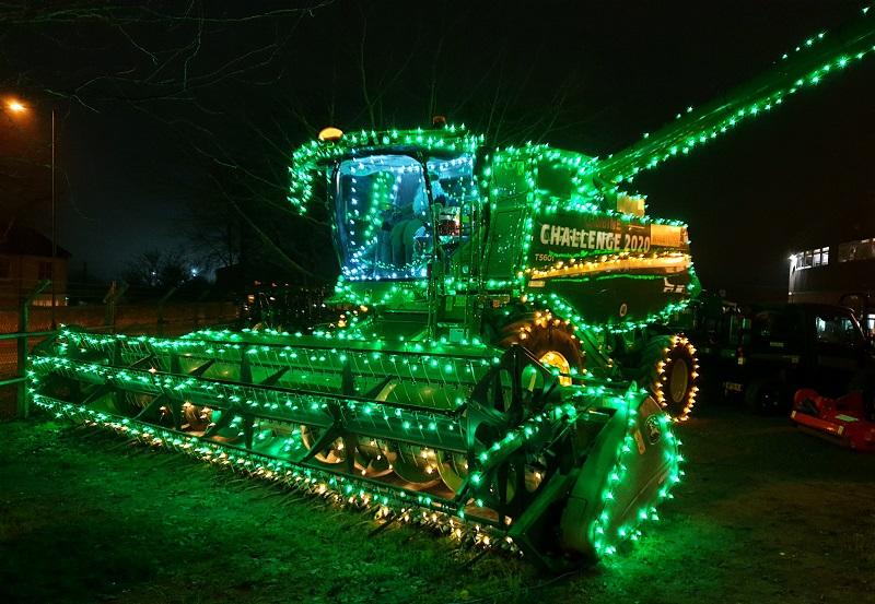 Festive Combine Harvester Ben Burgess John Deere Norwich