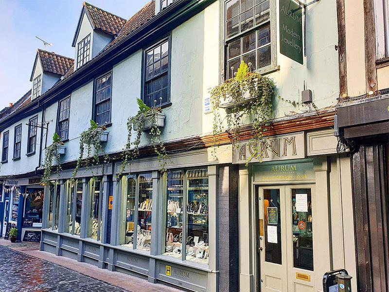Aurum Jewellers Norwich.