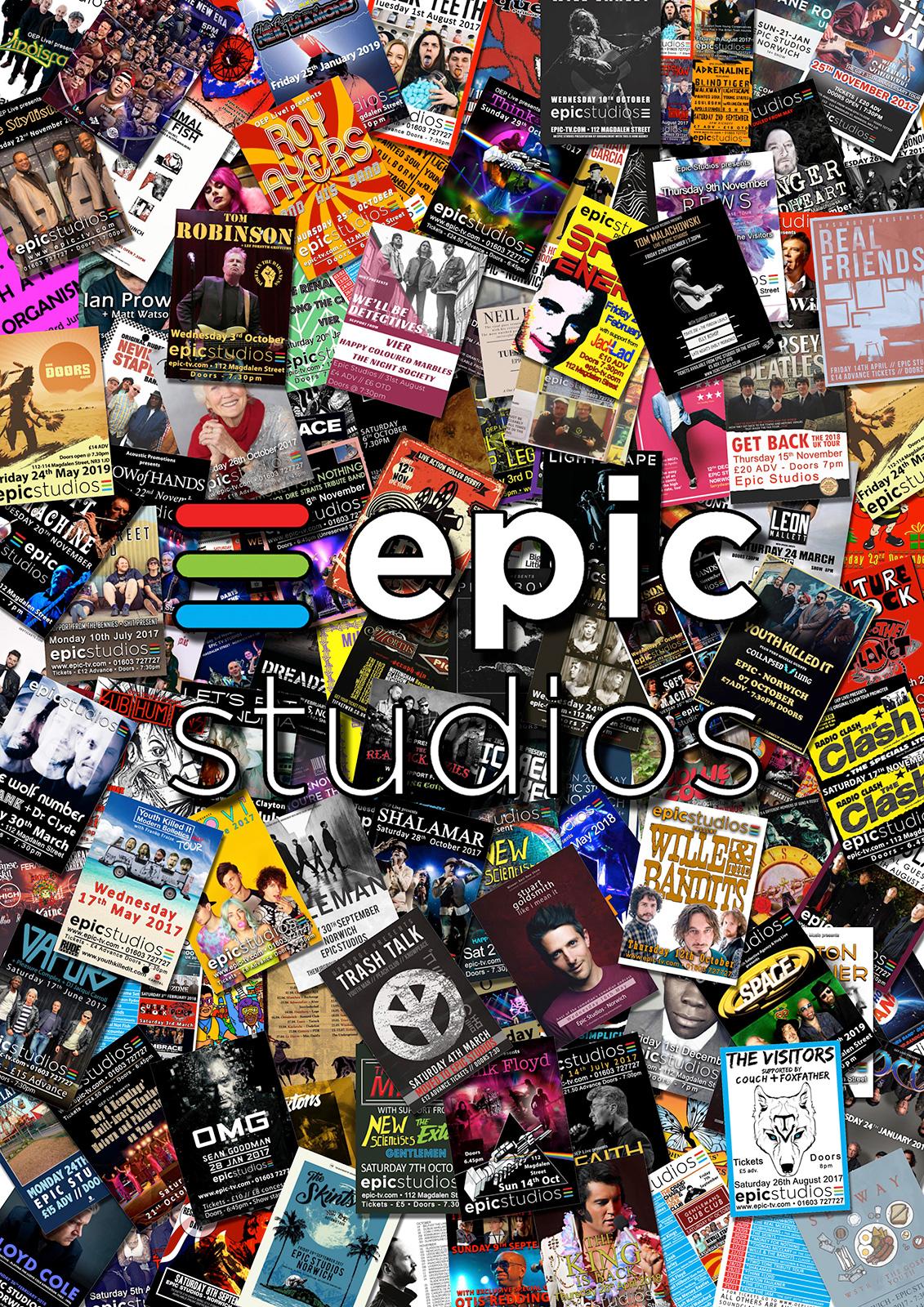 Epic Studios in Norwich.