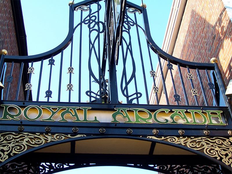 The Royal Arcade, Norwich.