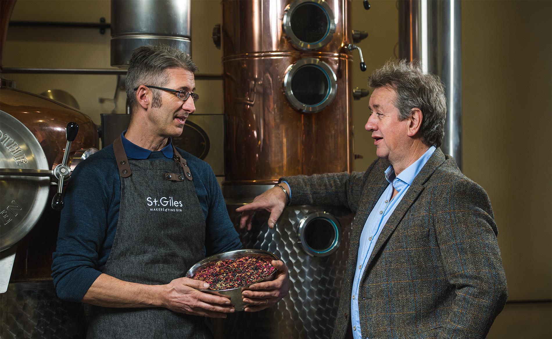 Pete Margree and Simon Melton of St Giles Gin.