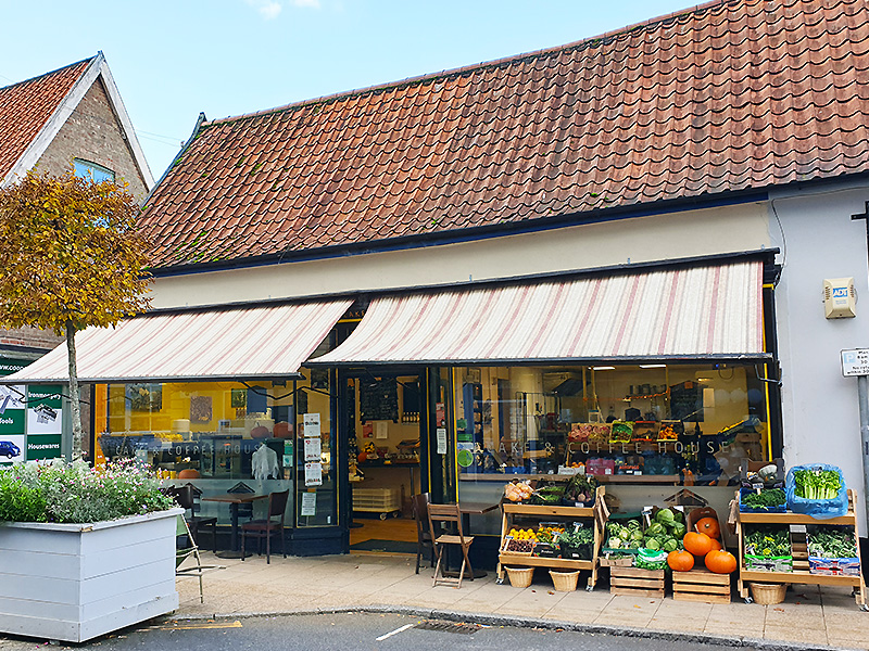 The Apiary Grocers & Coffee House, Harleston.