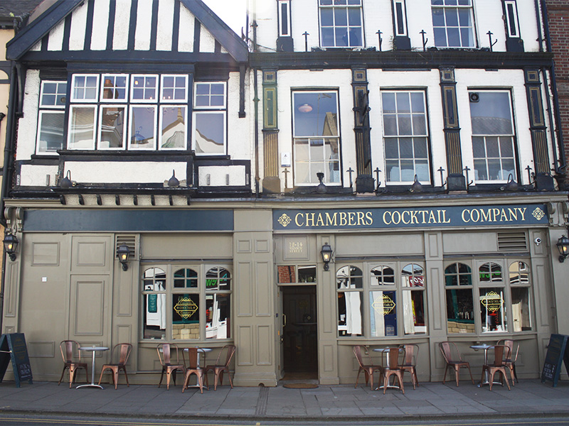 Chambers Cocktail Company in Norwich.
