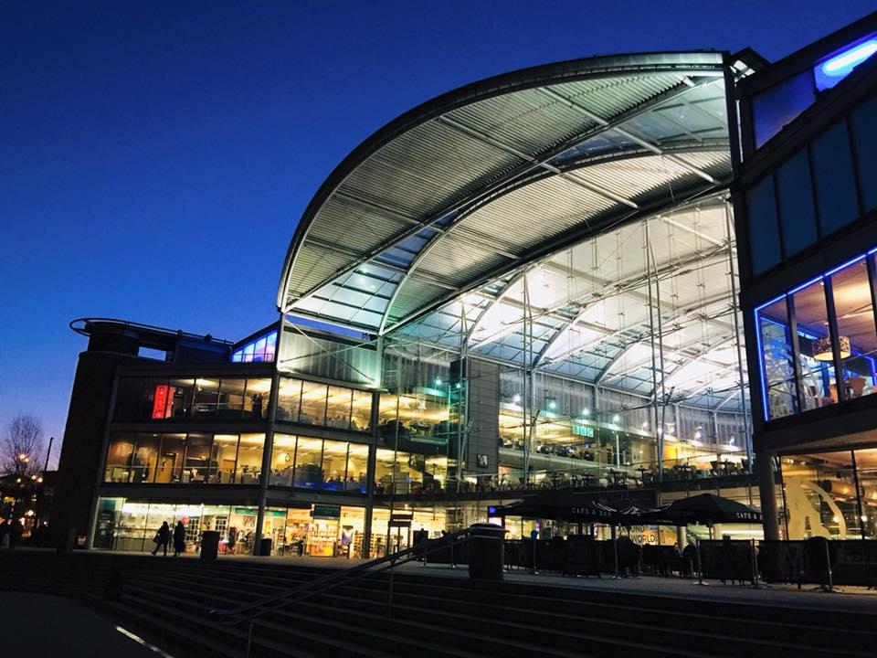The Forum in Norwich city centre.