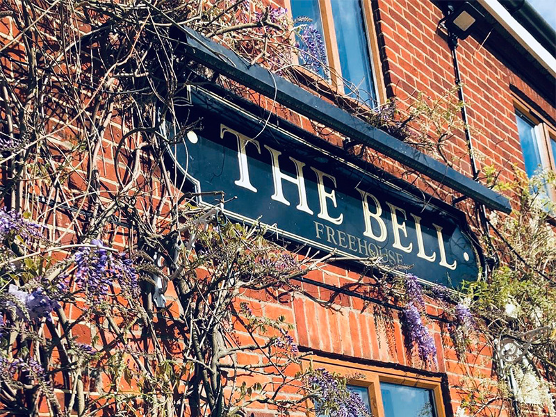 The Bell at Marlingford.