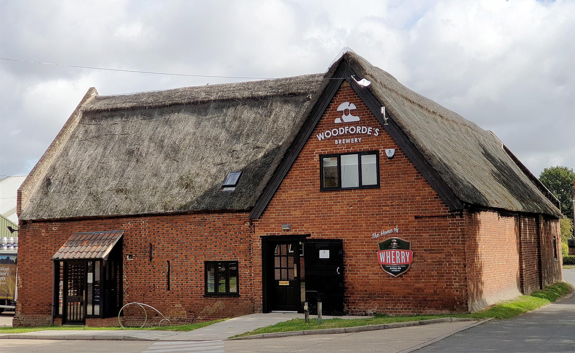 Woodforde's Brewery in Norfolk.