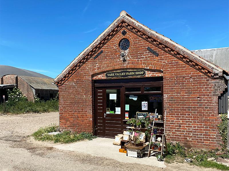Yare Valley Farm Shop, Norfolk.