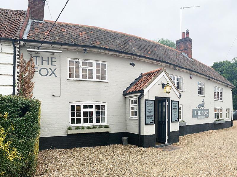 The Fox at Lyng in Norfolk.