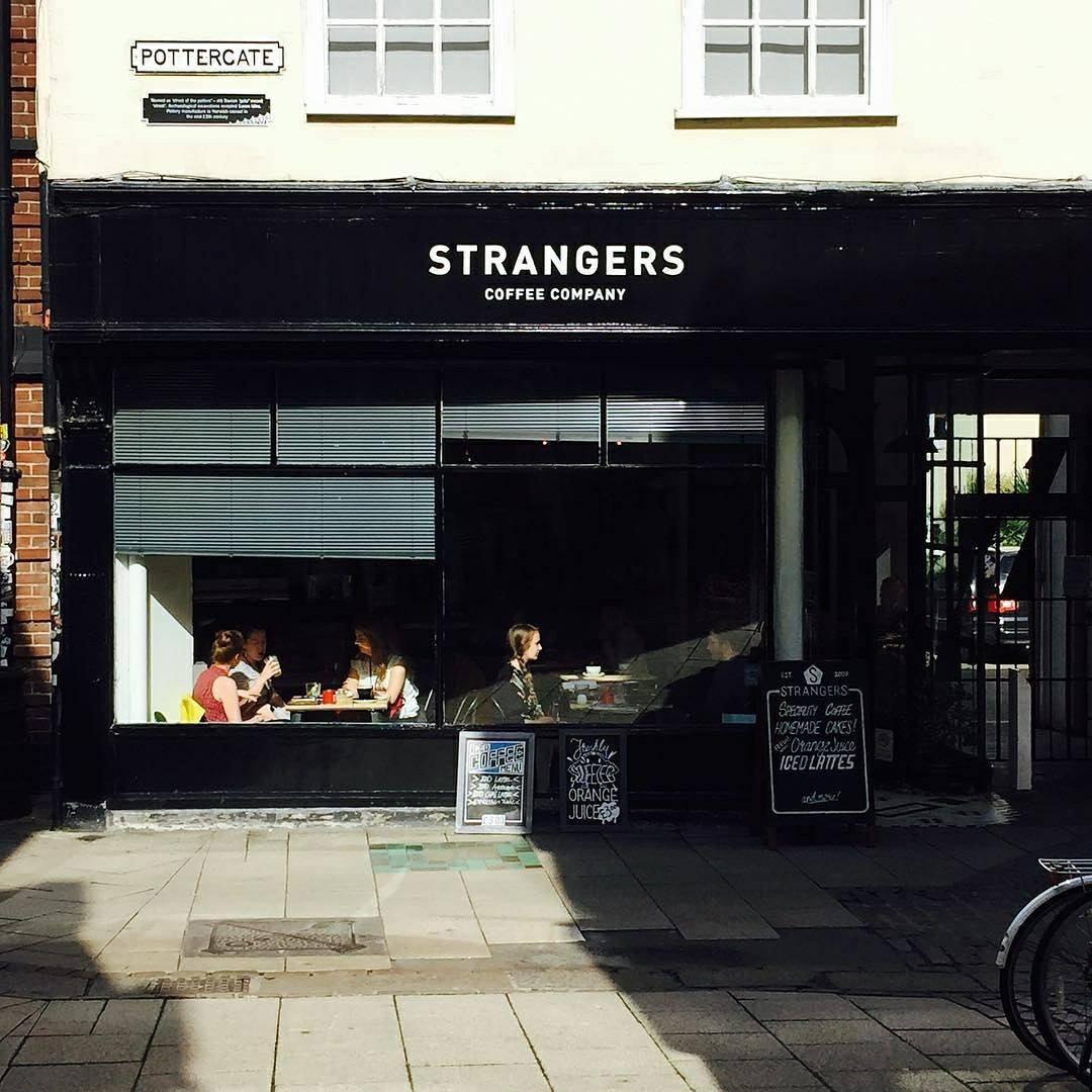 Strangers Coffee House, Norwich.