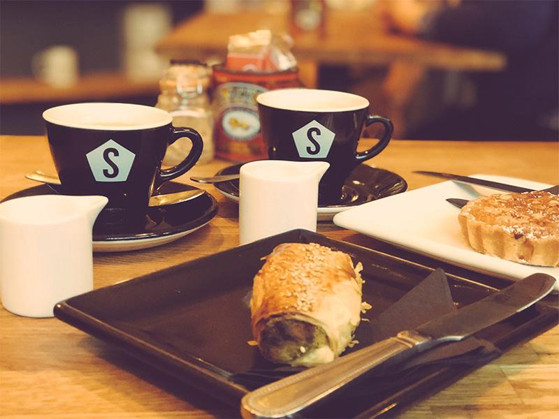 Strangers Coffee House Norwich.