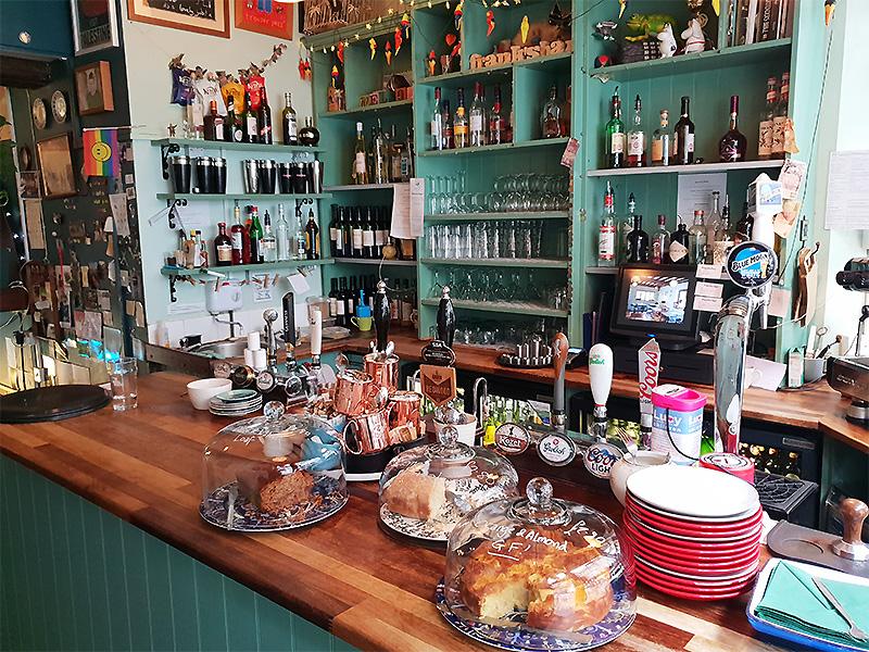Frank's Bar in Norwich.