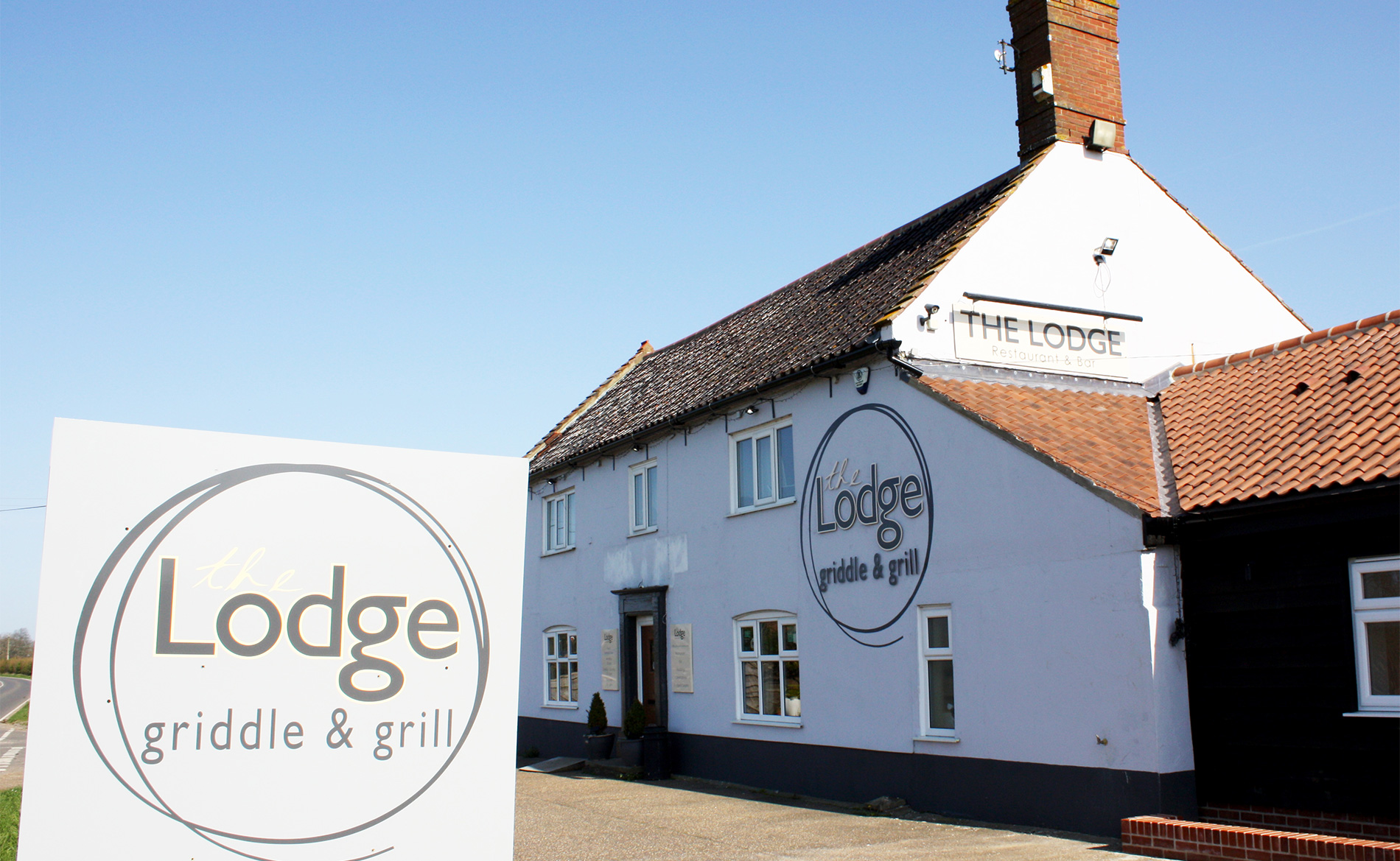 The Lodge Griddle & Grill restaurant between Norwich and Dereham.