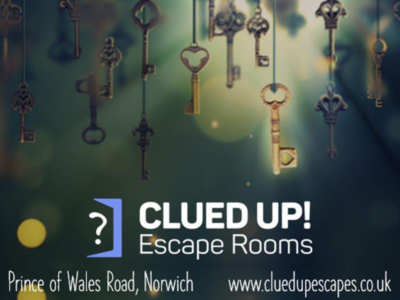 Clued Up! Escape Rooms Norwich.