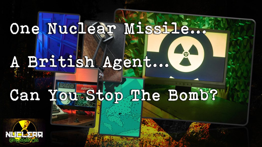 Nuclear Countdown Escape Room from Clued Up! Escape Rooms in Norwich.
