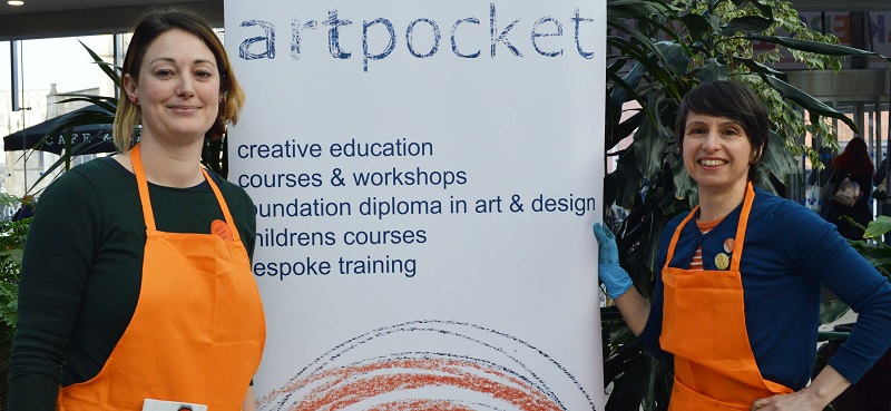 Artpocket at Norfolk Makers Festival Norwich.