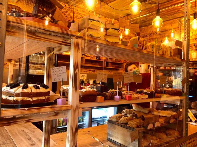Inside Tofurei in Norwich.