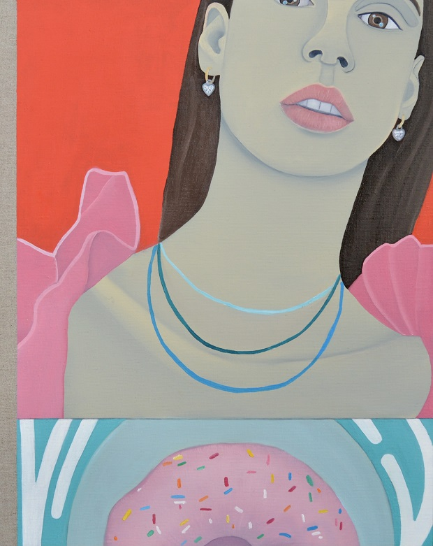 Artist Jess Burgess exhibition Bread and a Girl.
