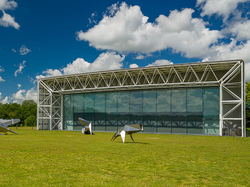 Sainsbury Centre at the University of East Anglia.