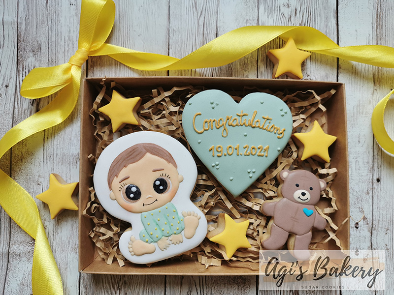 Agi's Bakery Handmade and hand decorated Cookies Norfolk.