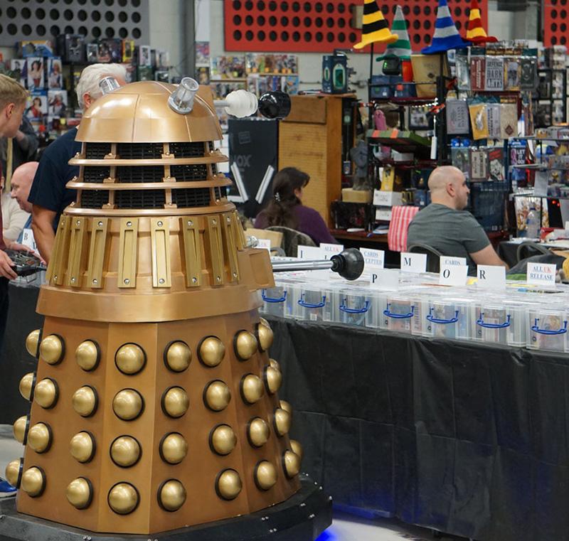 Dalek Shopping at NORCON.