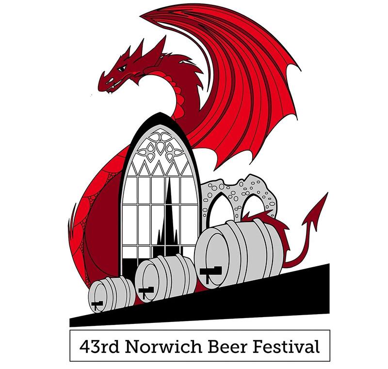 2021 Norwich Beer Festival Logo