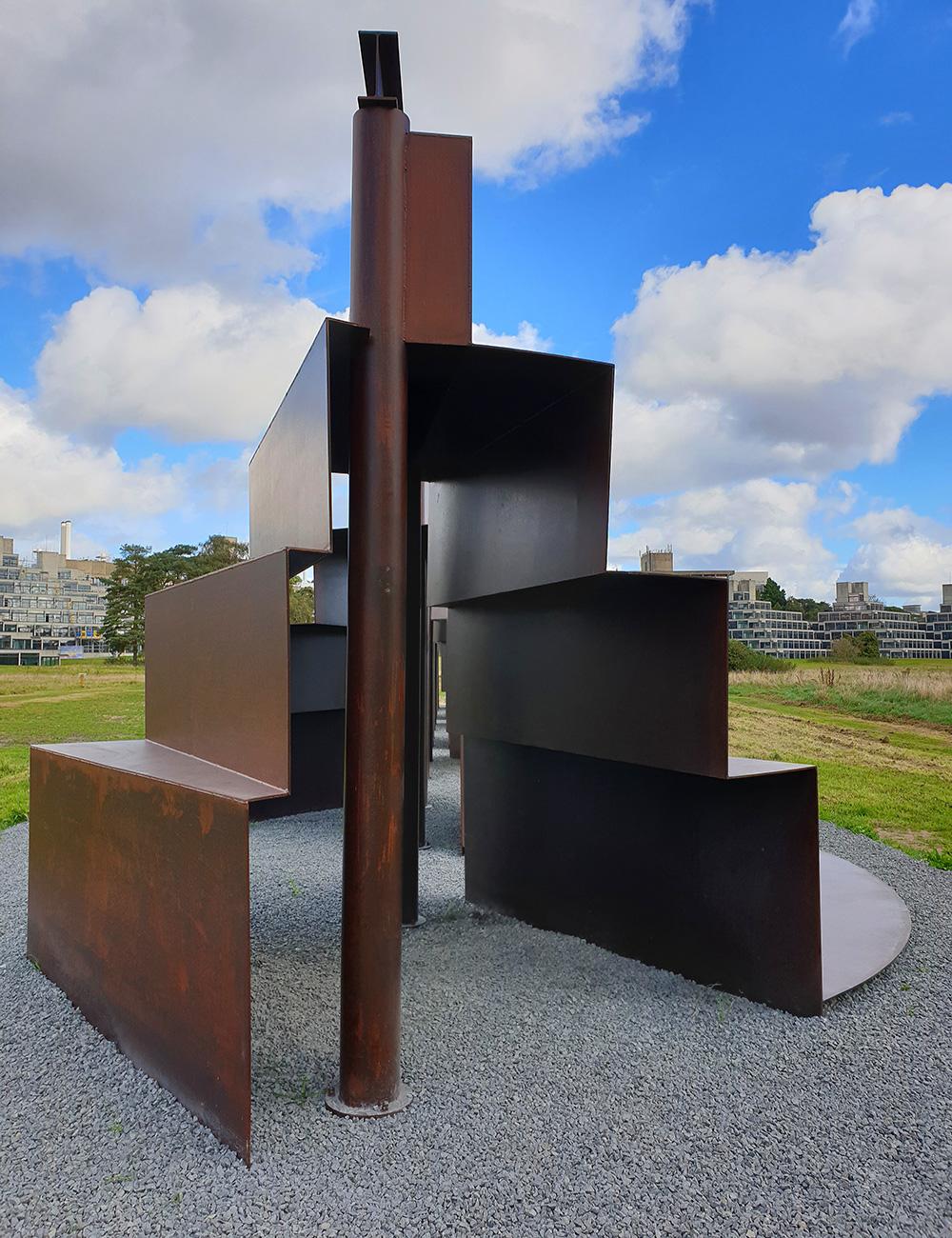 Anthony Caro Sculpture at Sainsbury Centre Sculpture Park.